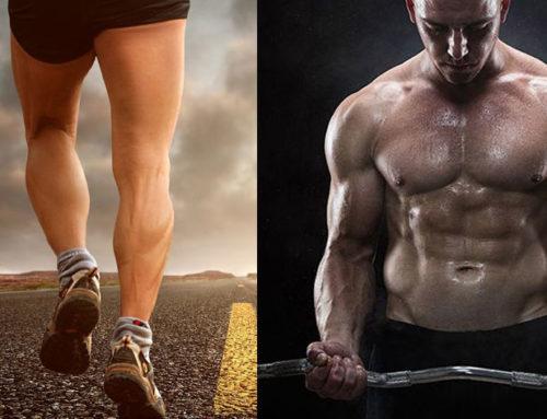 Muskelaufbau durch Joggen?